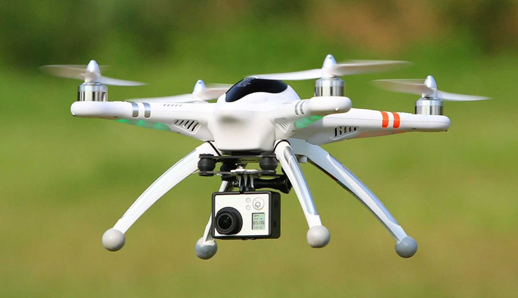 Drone Camera for Wildlife Conservation