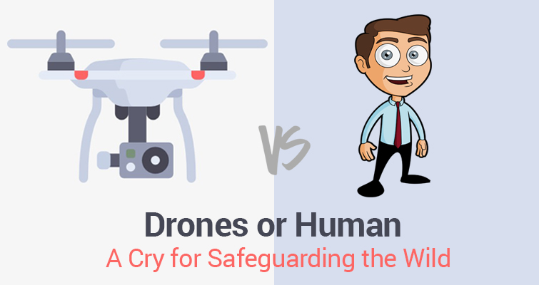 Drones or Human