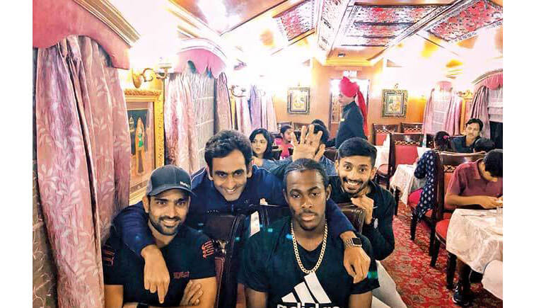 Palace on Wheels Train - Rajasthan Royals