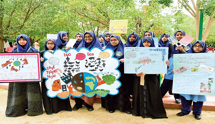 hyderabad kids tiger awareness
